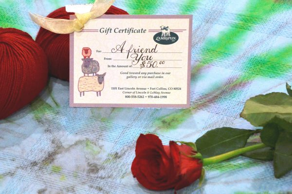Lambspun Gift Certificate