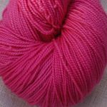 Superwash Sock Yarn - Pink Rose