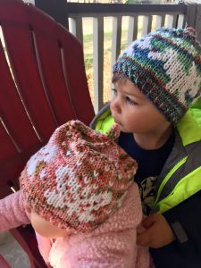 Puppies and Butterflies Toddler Hats