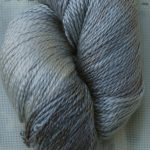 Hand-Dyed 100% Silk - Dusty Miller