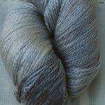 Hand-Dyed 100% Silk - Dusty Miller