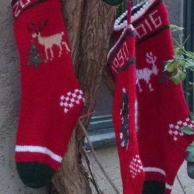 Christmas Stockings/Socks — Oct. 14, 21, 28