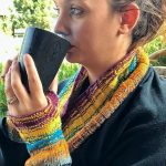 Gradient Horizon Cowl and Handwarmers