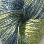 Hand-dyed 100% Silk  - Colorado Evergreen