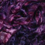 Hand-dyed Silk Fiber - Magic Portal