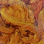 Hand-dyed Silk Fiber - Rumpelstiltskin