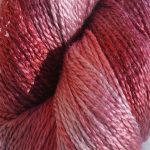 Hand-dyed 100% Silk  - Winter Berry