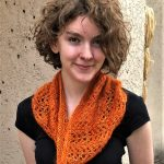 Herringbone Lace Cowl Kit