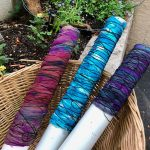 Dyeing Shibori and Watercolor class: Jan. 25th