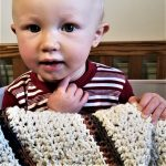Melina's Crocheted Baby Blanket