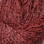 Hand-dyed 100% Silk Bouclé - Gerbera Brown
