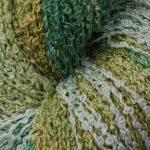Hand-dyed 100% Silk Bouclé - Moss