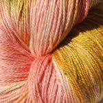 Hand-dyed Rainbow Prism - Geranium