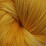 Superwash Sock Yarn - Sunflower Sunrise