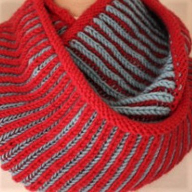 Brioche Cowl — basic & advanced brioche with Larissa: Mar. 3, 17