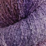 Hand-dyed 100% Silk Bouclé - Lavender