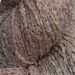 Hand-dyed 100% Silk Bouclé - Pink Lamb's Ear
