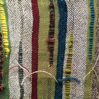Saori-Style Weaving: Dec. 6th, 13th, 20th