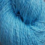 100% Hand-Dyed Organic Cotton - Aspen Sky