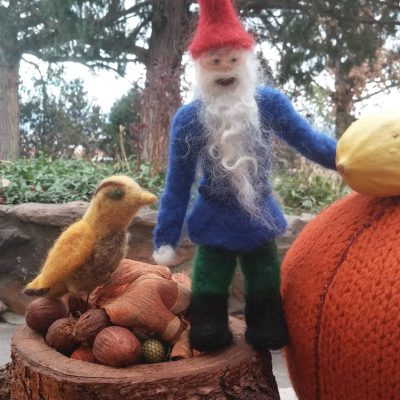 Felted Gnomes — Beginning Needle Felting