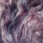 Merino/Silk Fiber - Cosmic Sparkle Luminous