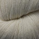 Superwash Sock Yarn - Morning Snow with sparkle