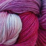 Superwash Sock Yarn - Mountain Sunset Dark with sparkle