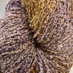 Hand-dyed 100% Silk Bouclé - Fennel