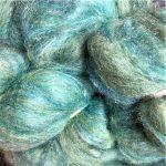Merino/Silk Fiber - Maritime Green