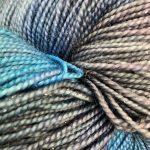Superwash Sock Yarn - Frosted Columbine