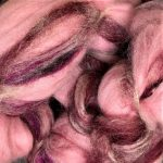 Merino/Silk Fiber - Waterlily Reflections
