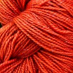 Superwash Sock Yarn - Frosty Tangelos