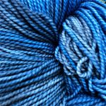 Superwash Sock Yarn - Indigo Bunting