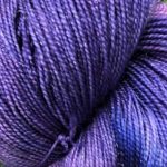 Superwash Sock Yarn -Starry Twilight with Sparkle