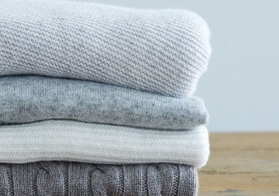 Spring Cleaning for Your Wool or Cashmere Sweaters
