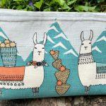 Llama Zipper Bag
