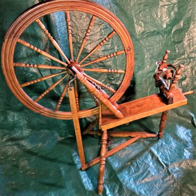 Antique Spinning Wheel and Loom Show