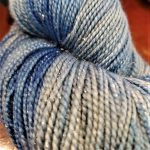 Superwash Sock Yarn -Starry Night with Sparkle