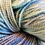 Superwash Sock Yarn - Teal Ridge Mars