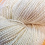 Superwash Sock Yarn - White Moon