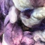 English Leicester/Silk Fiber - Parisian Lavender
