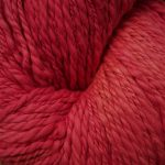 100% Hand-Dyed Organic Cotton - Red Maple