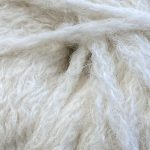 Superfine Alpaca Yarn - Fluffy White Herself