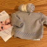 Unisex Boatneck Baby Sweater