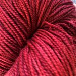 Superwash Sock Yarn - Red Sun