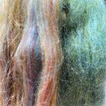 Merino/Silk Fiber - Lambs Ear