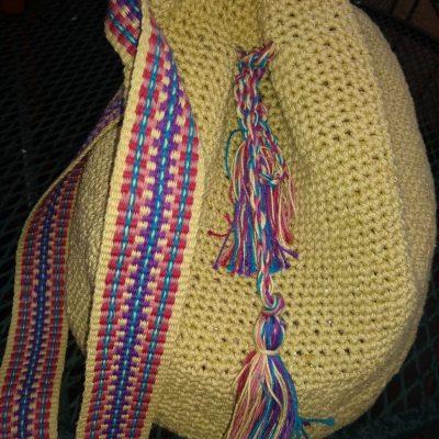 Crochet Bags with Inkle Belt — July 22, 29