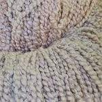 Hand-Dyed Combed Curly Cotton -- Purple-winged Kestrel