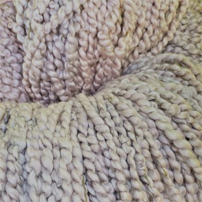 Meet Lambspun's newest hand-dyed yarn — Combed Curly Cotton