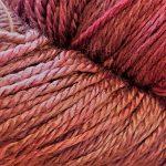 Hand-Dyed Silk/Merino/SeaCell Silk -- De Medici Plum